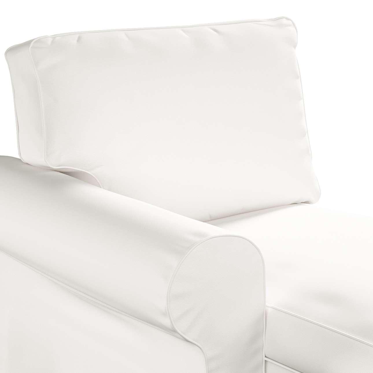 Pokrowiec na szezlong Ektorp lewy w kolekcji Cotton Panama, tkanina: 702-34