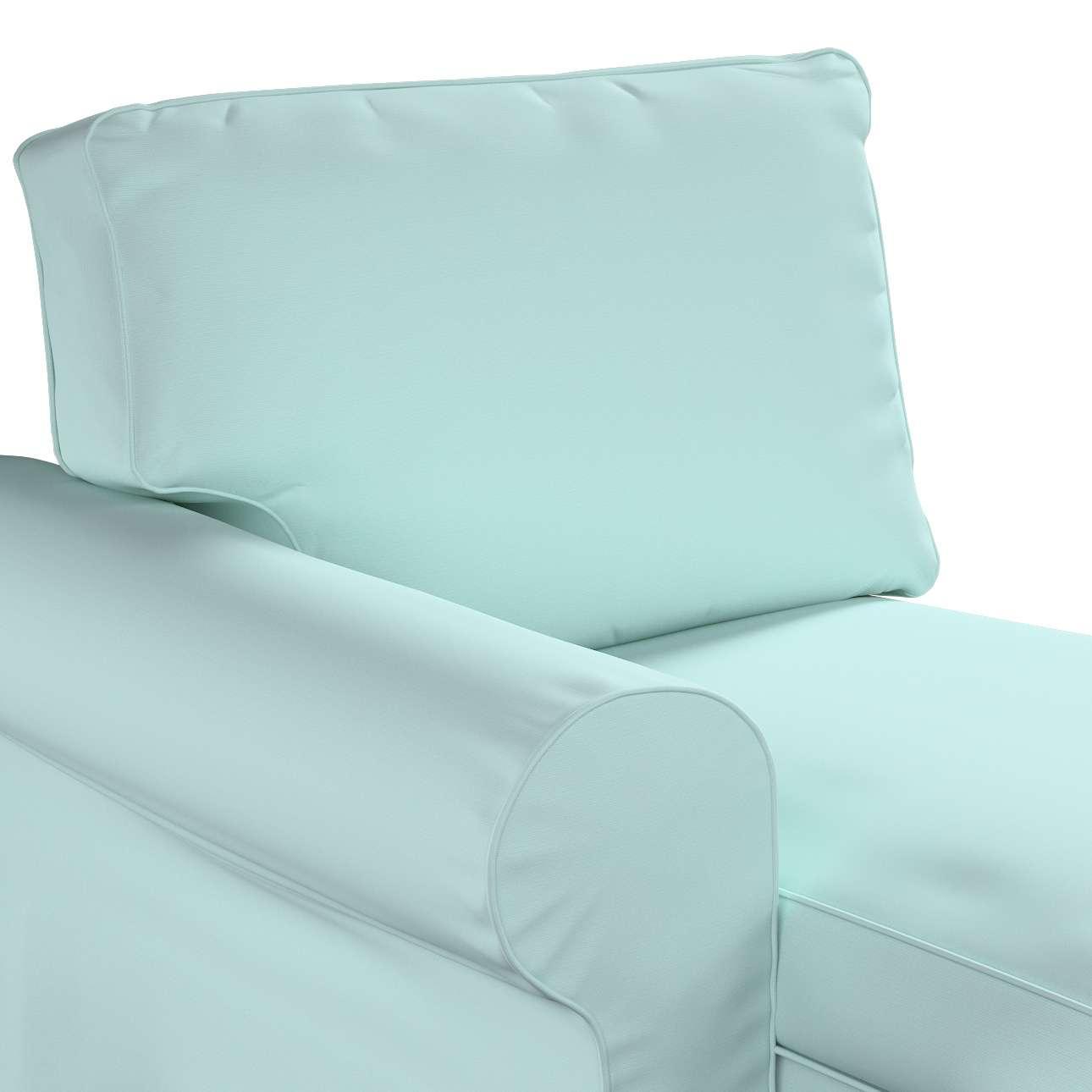 Ektorp Bezug für Récamiere links von der Kollektion Cotton Panama, Stoff: 702-10
