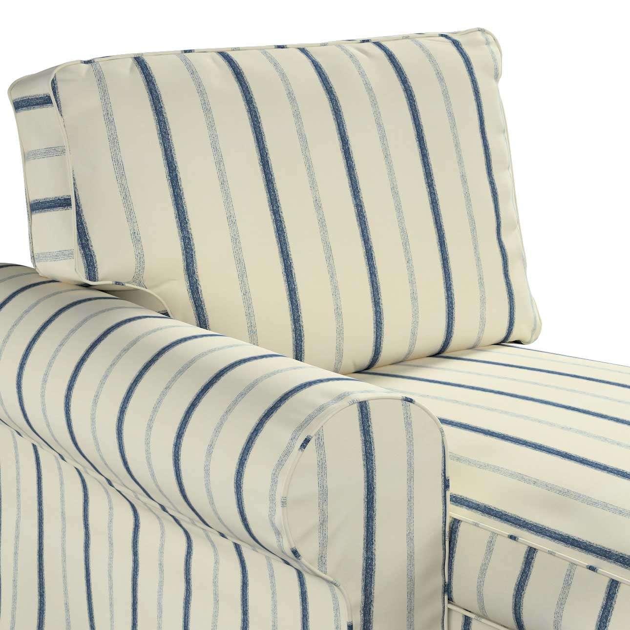 Pokrowiec na szezlong Ektorp lewy w kolekcji Avinon, tkanina: 129-66