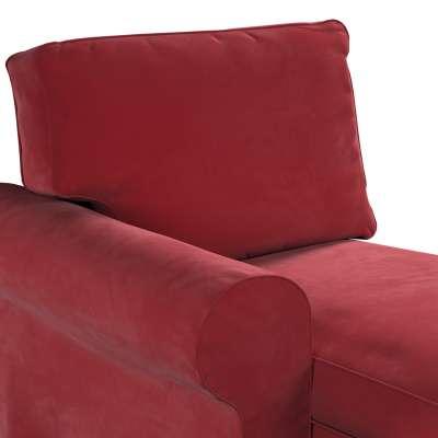 Pokrowiec na szezlong Ektorp lewy w kolekcji Velvet, tkanina: 704-15