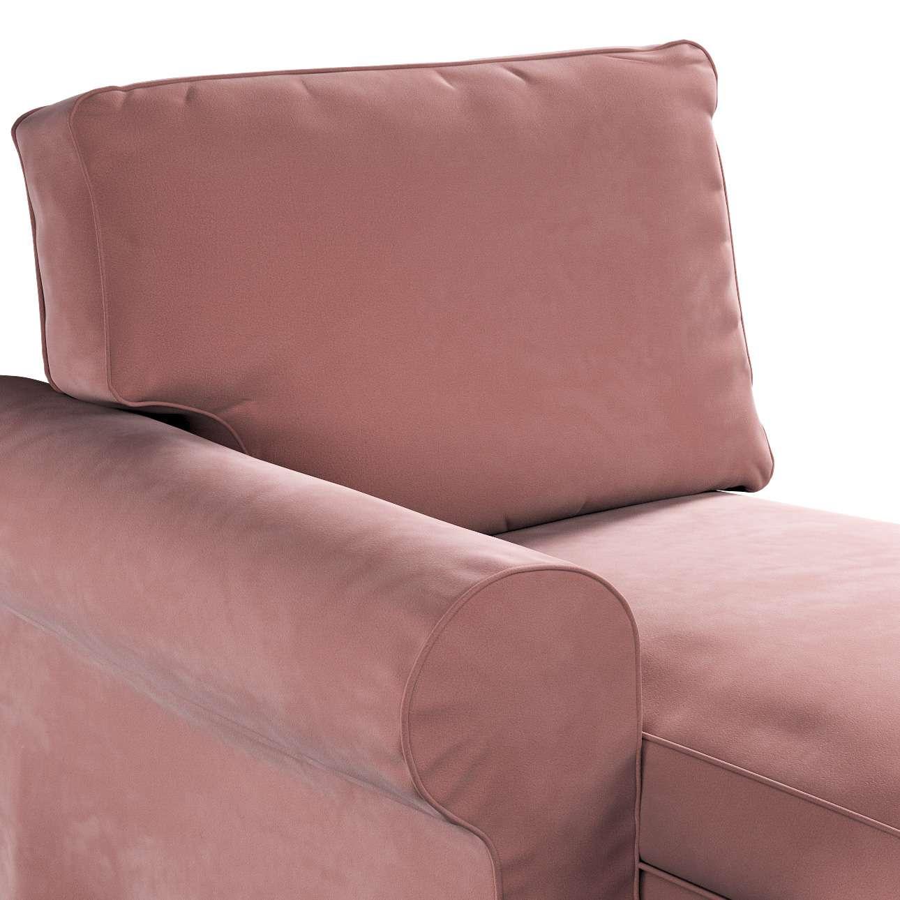 Pokrowiec na szezlong Ektorp lewy w kolekcji Velvet, tkanina: 704-30