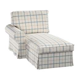 Ektorp chaise longue left cover