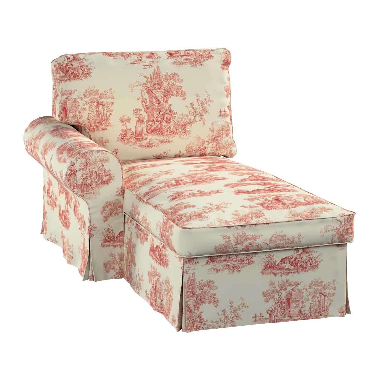 Ektorp balos fekvő fotel huzat a kollekcióból Avinon Lakástextil, Dekoranyag: 132-15