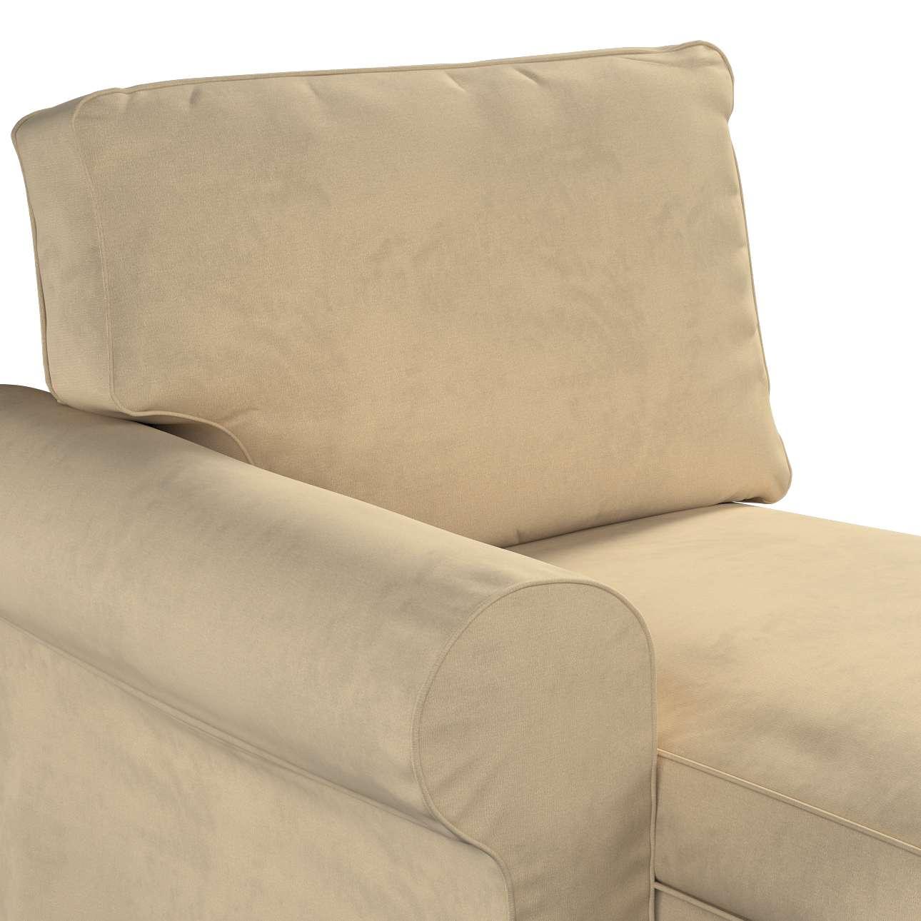 Pokrowiec na szezlong Ektorp lewy w kolekcji Living, tkanina: 160-82