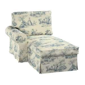 Ektorp gulimojo krėslo užvalkalas (su porankiu, kairiojo) Ektorp gulimasis krėslas - kairysis kolekcijoje Avinon, audinys: 132-66