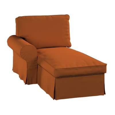Ektorp chaise longue left cover 702-42 caramel Collection Panama Cotton
