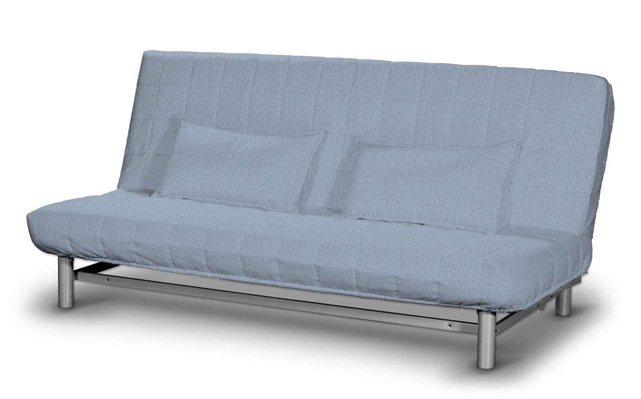 Quiltet betræk til sovesofa med 2 quiltede pudebetræk fra kollektionen Chenille, Stof: 702-13