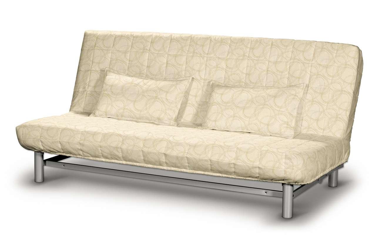 Beddinge quiltet betræk til sovesofa med 2 quiltede pudebetræk fra kollektionen Living, Stof: 161-81