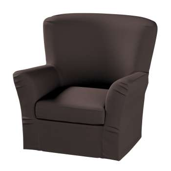 Pokrowiec na fotel Tomelilla z zakładkami fotel Tomelilla w kolekcji Cotton Panama, tkanina: 702-03