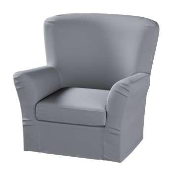 Pokrowiec na fotel Tomelilla z zakładkami fotel Tomelilla w kolekcji Cotton Panama, tkanina: 702-07