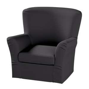 Pokrowiec na fotel Tomelilla z zakładkami fotel Tomelilla w kolekcji Cotton Panama, tkanina: 702-08