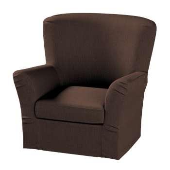 Pokrowiec na fotel Tomelilla z zakładkami fotel Tomelilla w kolekcji Chenille, tkanina: 702-18