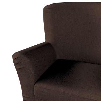 Pokrowiec na fotel Tomelilla z zakładkami w kolekcji Chenille, tkanina: 702-18