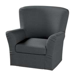 Pokrowiec na fotel Tomelilla z zakładkami fotel Tomelilla w kolekcji Chenille, tkanina: 702-20