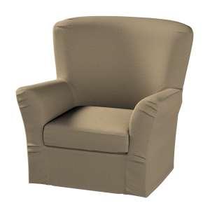 Pokrowiec na fotel Tomelilla z zakładkami fotel Tomelilla w kolekcji Chenille, tkanina: 702-21