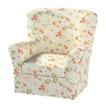 Pokrowiec na fotel Tomelilla z zakładkami fotel Tomelilla w kolekcji Londres, tkanina: 124-65