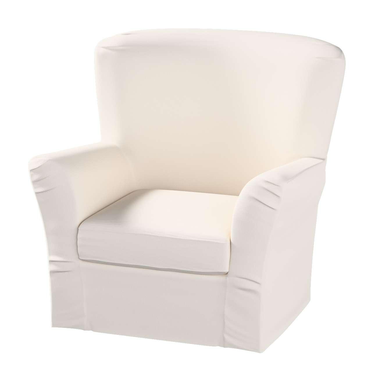 Pokrowiec na fotel Tomelilla z zakładkami fotel Tomelilla w kolekcji Etna , tkanina: 705-01