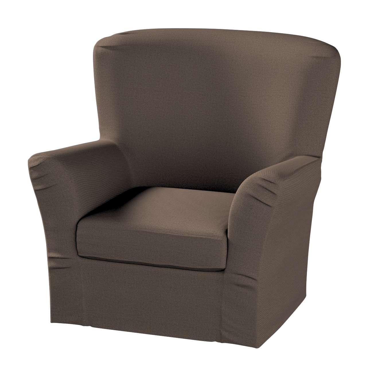Pokrowiec na fotel Tomelilla z zakładkami fotel Tomelilla w kolekcji Etna , tkanina: 705-08