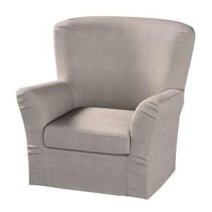 Pokrowiec na fotel Tomelilla z zakładkami fotel Tomelilla w kolekcji Etna , tkanina: 705-09