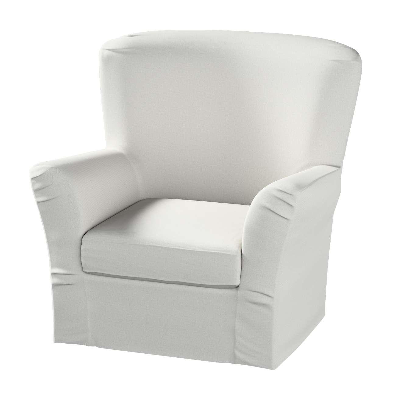 Pokrowiec na fotel Tomelilla z zakładkami fotel Tomelilla w kolekcji Etna , tkanina: 705-90