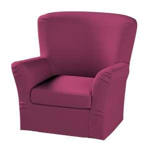 Pokrowiec na fotel Tomelilla z zakładkami fotel Tomelilla w kolekcji Cotton Panama, tkanina: 702-32