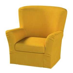 Pokrowiec na fotel Tomelilla z zakładkami fotel Tomelilla w kolekcji Etna , tkanina: 705-04
