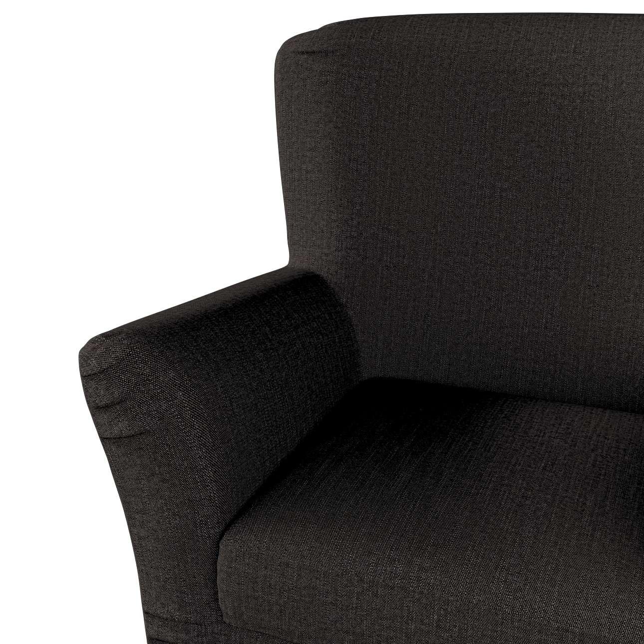 Pokrowiec na fotel Tomelilla z zakładkami w kolekcji Etna, tkanina: 702-36