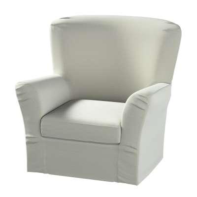 Pokrowiec na fotel Tomelilla z zakładkami w kolekcji Ingrid, tkanina: 705-41