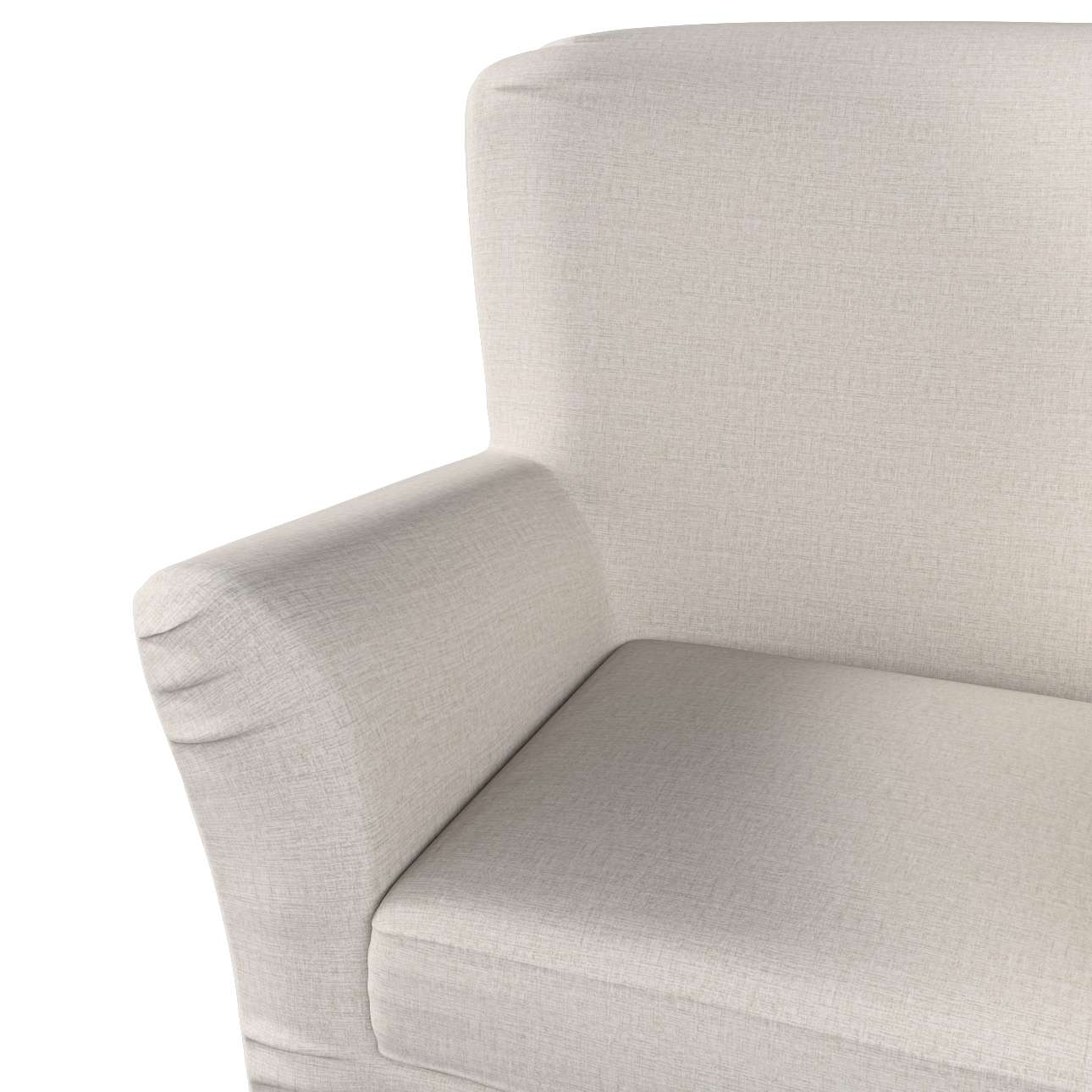 Pokrowiec na fotel Tomelilla z zakładkami w kolekcji Living, tkanina: 161-00
