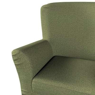 Pokrowiec na fotel Tomelilla z zakładkami w kolekcji Madrid, tkanina: 161-22