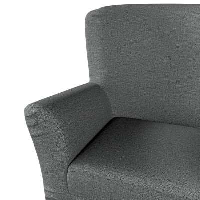 Pokrowiec na fotel Tomelilla z zakładkami w kolekcji Madrid, tkanina: 161-24