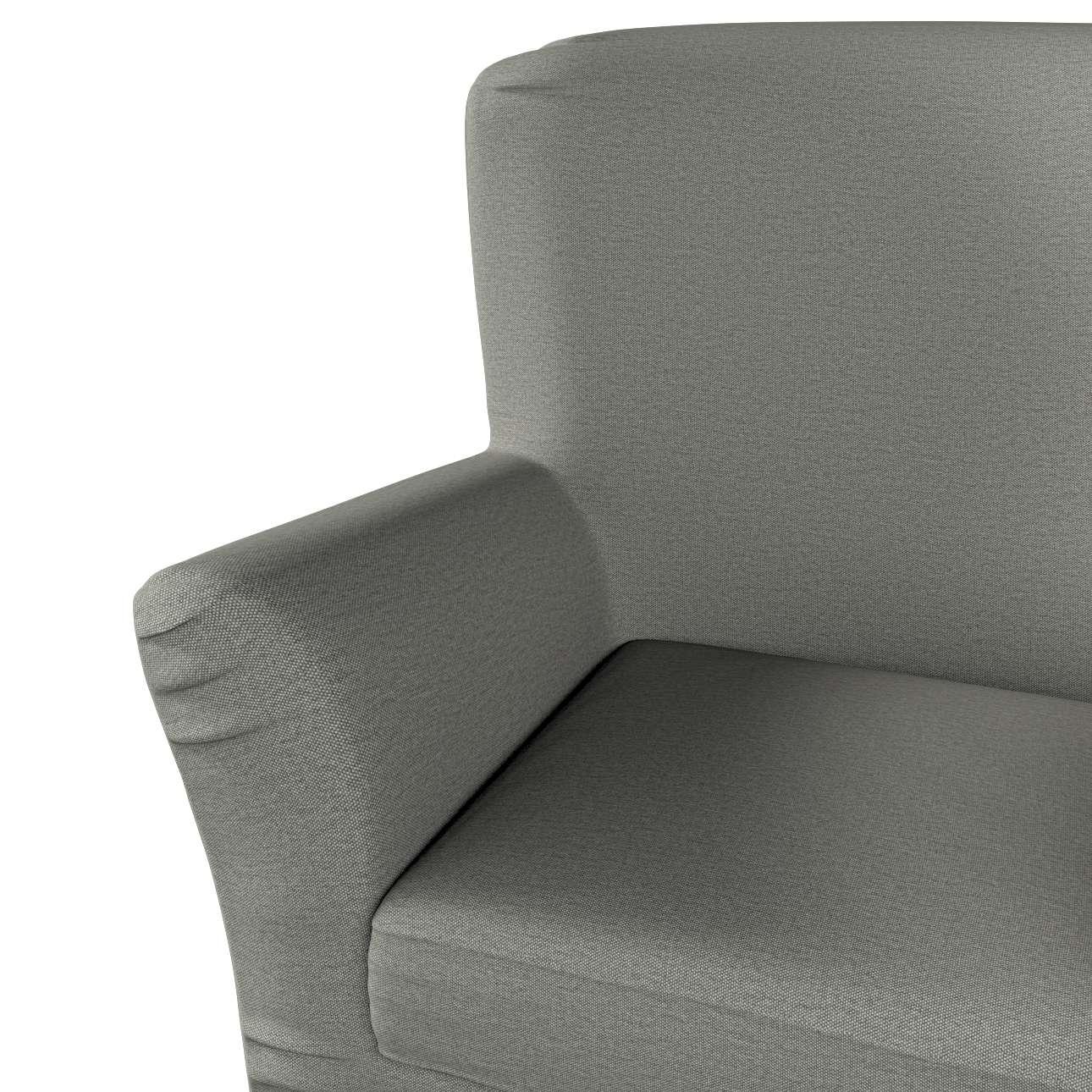 Pokrowiec na fotel Tomelilla z zakładkami w kolekcji Etna, tkanina: 161-25