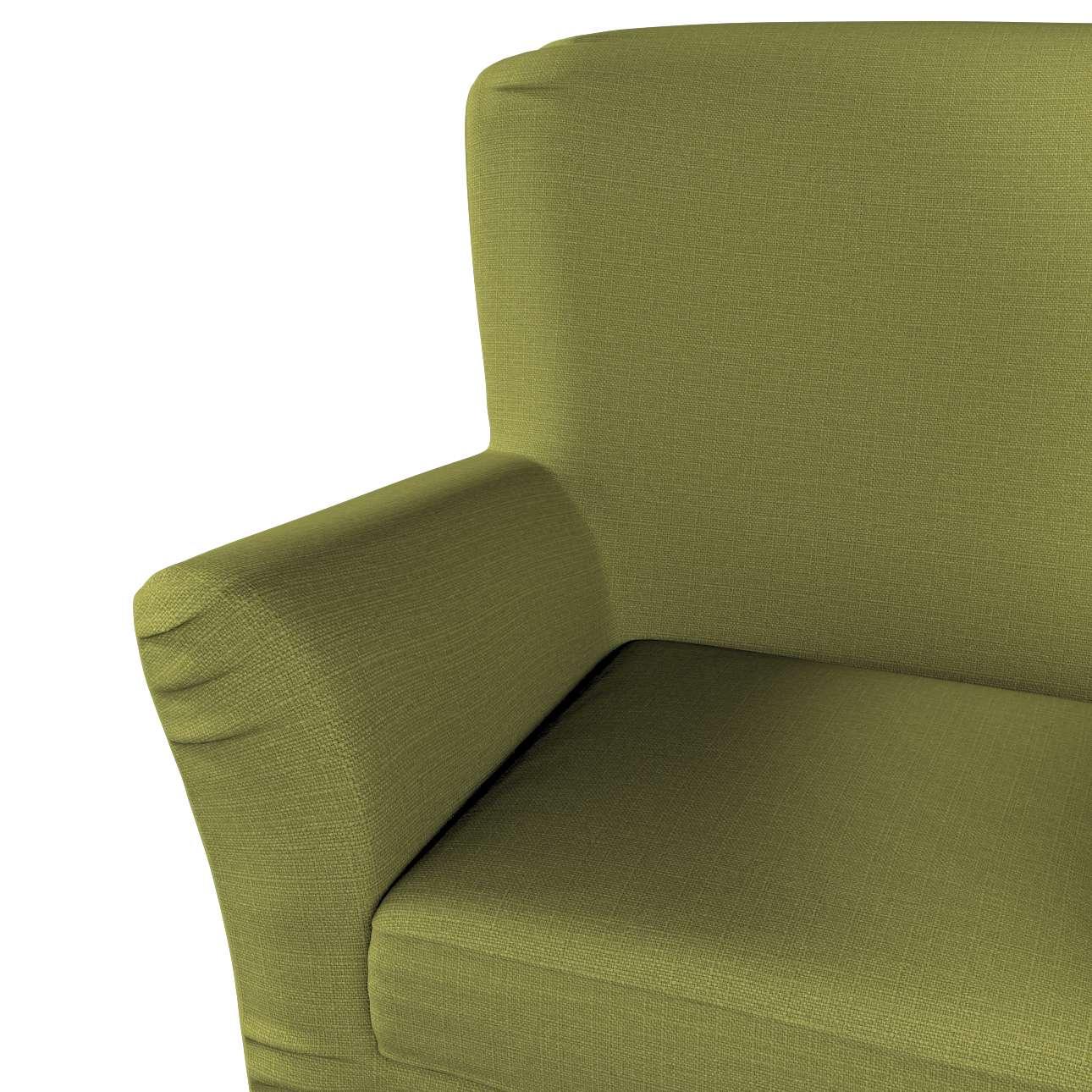 Pokrowiec na fotel Tomelilla z zakładkami w kolekcji Living, tkanina: 161-13