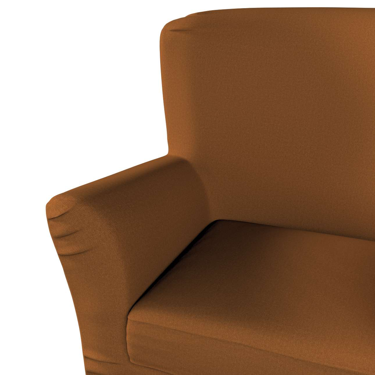 Pokrowiec na fotel Tomelilla z zakładkami w kolekcji Living, tkanina: 161-28