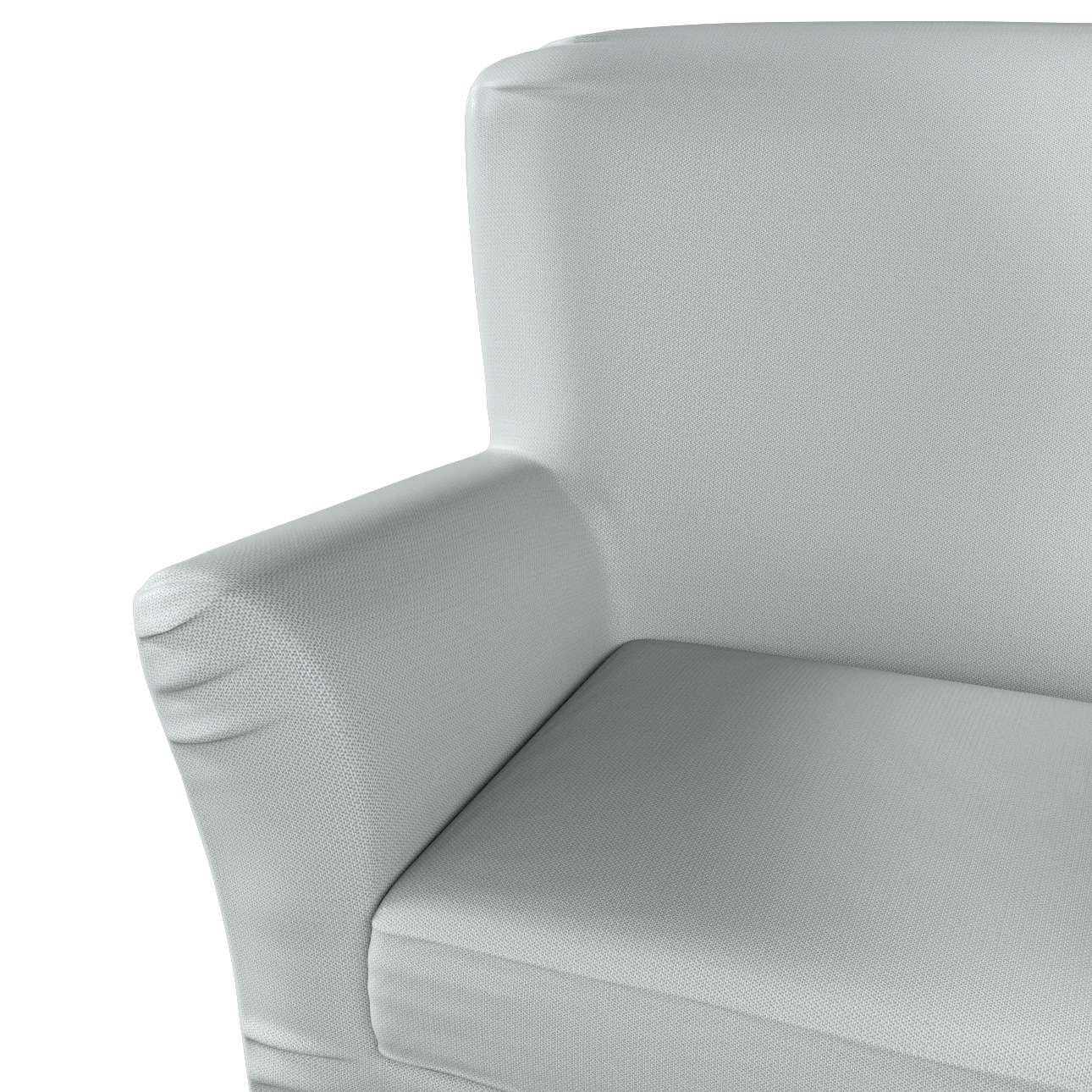 Pokrowiec na fotel Tomelilla z zakładkami w kolekcji Bergen, tkanina: 161-72