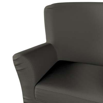 Pokrowiec na fotel Tomelilla z zakładkami 161-55 ciemny szary Kolekcja Living
