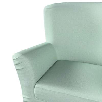Pokrowiec na fotel Tomelilla z zakładkami 161-61 pastelowy błękit Kolekcja Living