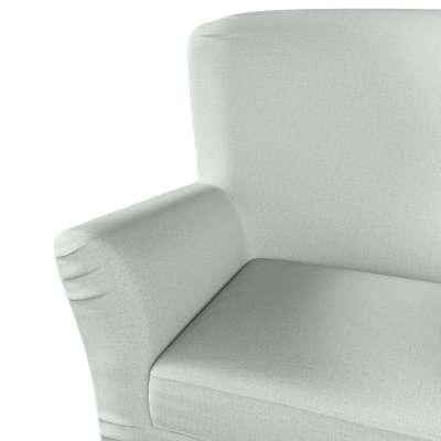 Pokrowiec na fotel Tomelilla z zakładkami 161-41 szara plecionka Kolekcja Living