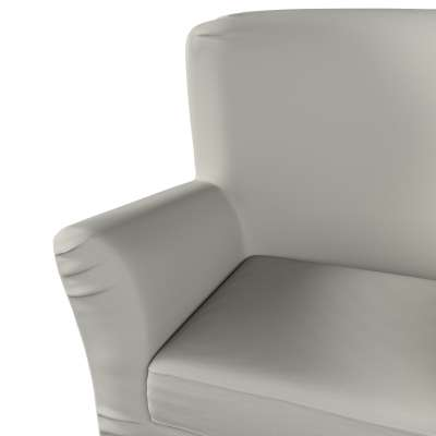 Pokrowiec na fotel Tomelilla z zakładkami 161-54 jasny szary Kolekcja Living