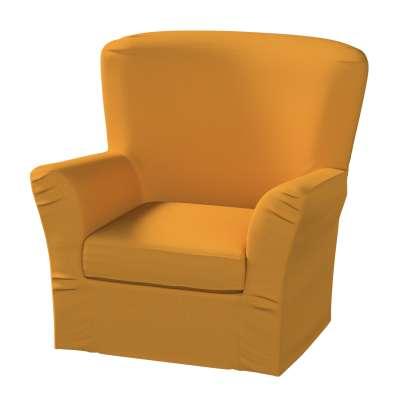 Pokrowiec na fotel Tomelilla z zakładkami 161-64 miodowy szenil Kolekcja Living