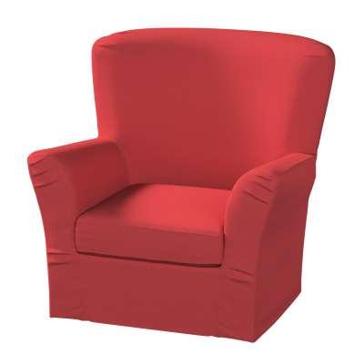 Pokrowiec na fotel Tomelilla z zakładkami 161-56 czerwony Kolekcja Living