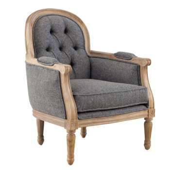 Fotel BERNARD grey