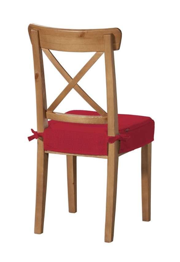 Sitzkissen geeignet für das Ikea Modell Ingolf  Modell Inglof von der Kollektion Chenille , Stoff: 702-24