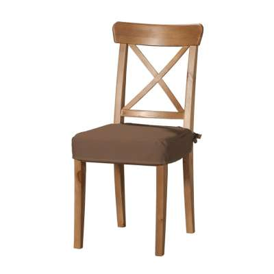 Siedzisko na krzesło Ingolf 133-09 brązowy Kolekcja Loneta