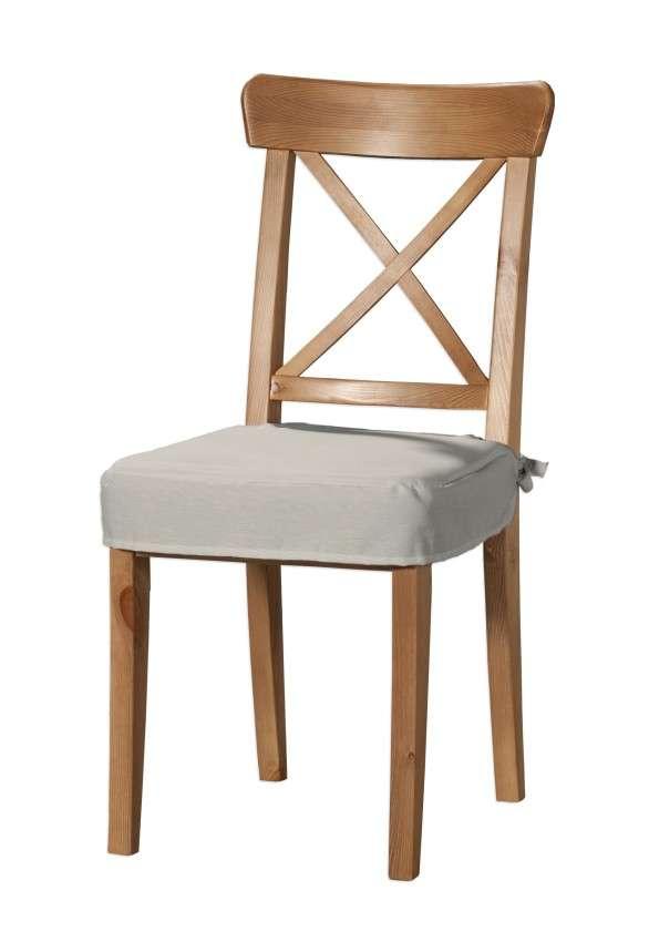 Sitzkissen geeignet für das Ikea Modell Ingolf  Modell Inglof von der Kollektion Cotton Panama, Stoff: 702-31