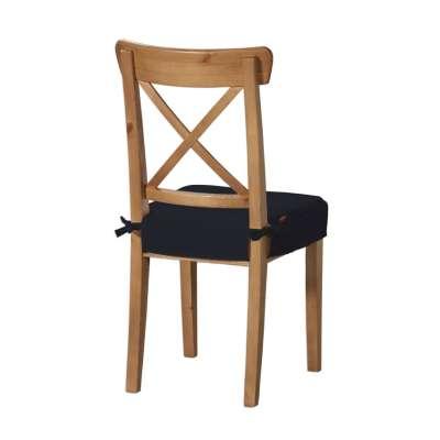 Siedzisko na krzesło Ingolf 127-99 czarny Kolekcja Jupiter