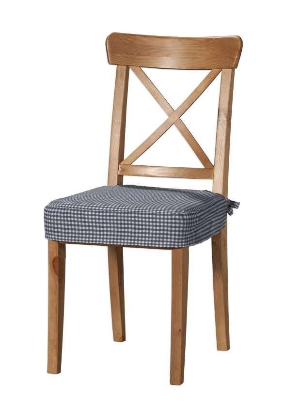 Sedák na stoličku Ingolf V kolekcii Quadro, tkanina: 136-00