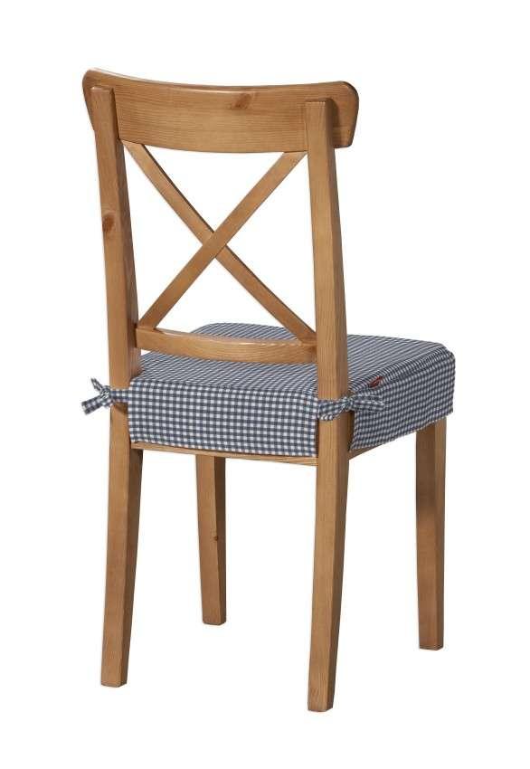 Siedzisko na krzesło Ingolf krzesło Inglof w kolekcji Quadro, tkanina: 136-00