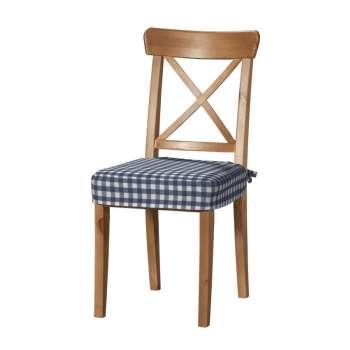 Sitzkissen geeignet für das Ikea Modell Ingolf  Modell Inglof von der Kollektion Quadro, Stoff: 136-01