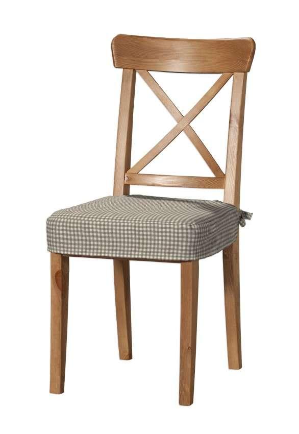 Sedák na stoličku Ingolf V kolekcii Quadro, tkanina: 136-05